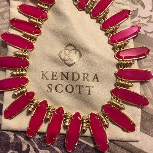 Kendra Scott pink agate Gabriella